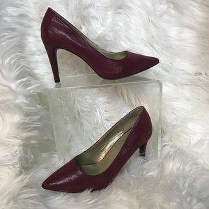 Bandolino Maroon Shiny Heels